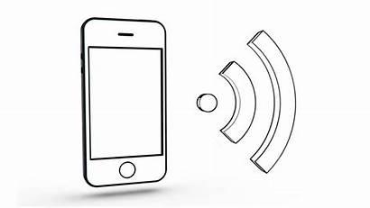 Drawing Phone Mobile Cartoon Screen Signal Drawn