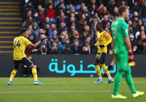 Arsenal Vs Crystal Palace Results / Arsenal warned ...