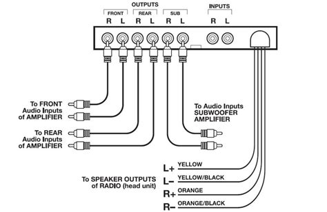 Wiring Diagram Pre Eq by Audio Ava1204 7 Band Pre Equalizer