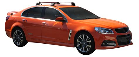 Holden Commodore Vevf Sedan 0806on Whispbar Roof Racks