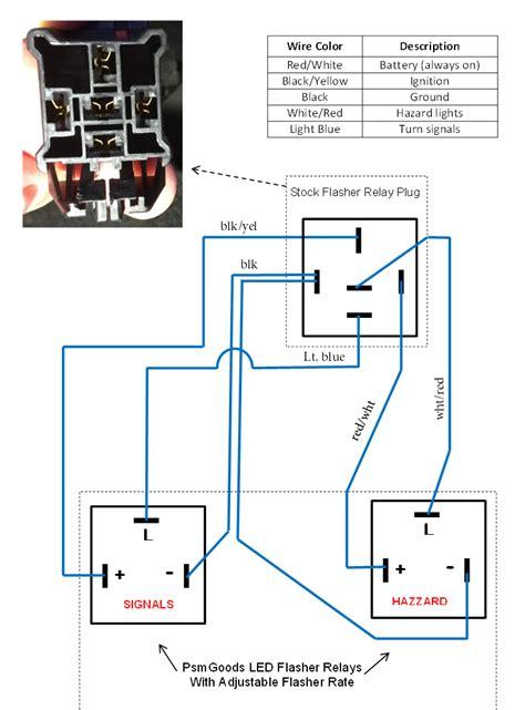 ford 3 terminal flasher relay wiring diagram 44 wiring