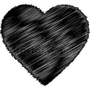 scribbled heart clipart royalty  gif jpg png eps