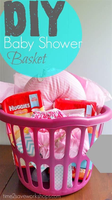 baby shower diy decorations diy baby shower gift basket on a shoestring kasey trenum