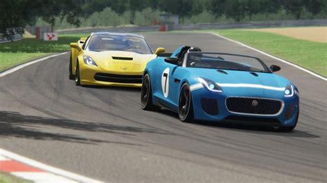 Batle Jaguar F-type Project 7 Vs Chevrolet Corvette C7