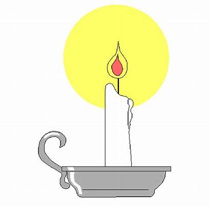 Clipart Candle Clip Flame Candlestick Candles Christian
