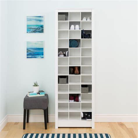 bathroom space saving ideas prepac white space saving shoe storage cabinet wusr 0009 1