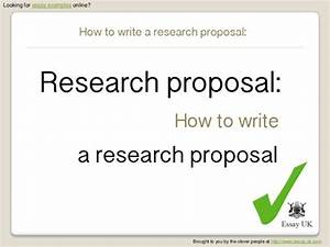 Writing A Research Project Proposal Dissertation Fellowships