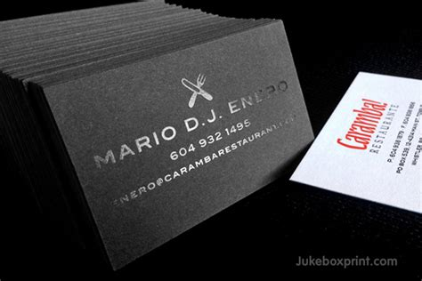 premium black business cards exclusively  jukeboxprintcom
