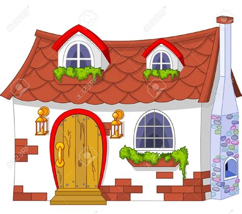 Cottage Clipart Clipart House Pencil And In Color