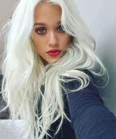 Platinum Purple Hair Color