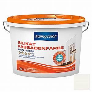 Swing Color Farben : swingcolor silikat fassadenfarbe wei 10 l matt 5874 ff silikat fassadenfarben hadd ~ Orissabook.com Haus und Dekorationen
