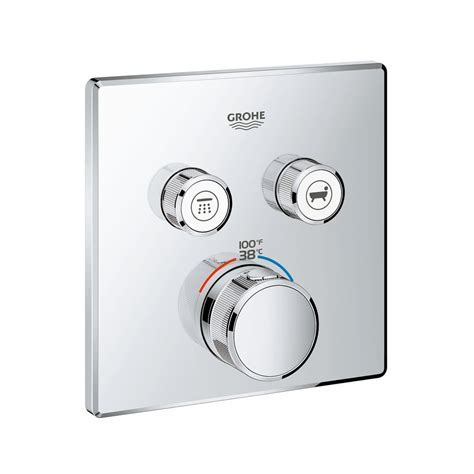 Grohe 29141000 Grohtherm SmartControl Dual Function