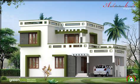 home designes architecture kerala 3 bhk modern style kerala home