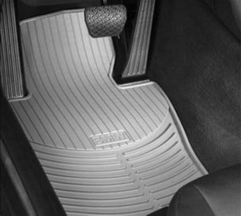 bmw e46 floor mats 8255015119x genuine bmw all weather rubber floor mats