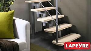 Toutes les options d'escalier proposées par Lapeyre YouTube