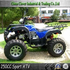 Manual Transmission Type 4 Stroke Engine Type 250cc Quad