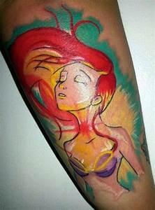 Little Mermaid Tattoo | Disney