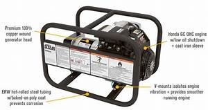 Northstar 165912 Portable Generator 2700 Surge Watts  2400 Rated Watts  Limited Stock   165912