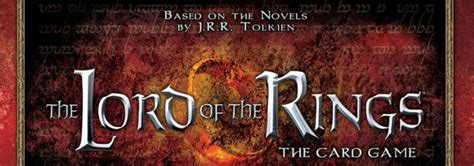 Lord Of The Rings The Card Game Review Board Games