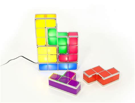 Tetris Stackable Led Desk L India by Tetris Led Desk L 187 Gadget Flow