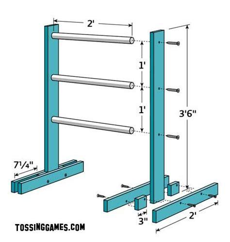 build wood ladder golf  woodworking
