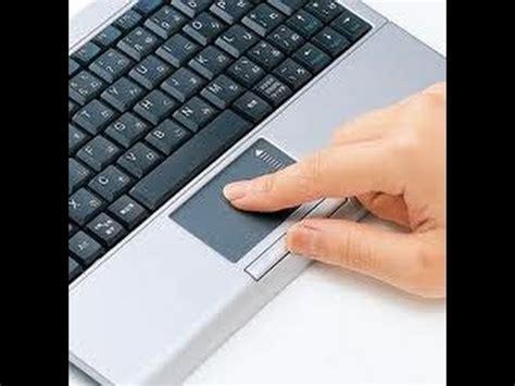 como desbloquear el touchpad al escribir  al presionar