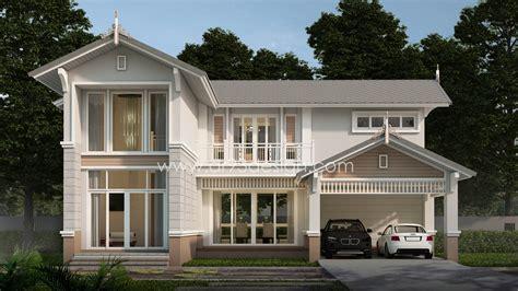 แบบบ้านสวยสองชั้น AR06 | AR93Design ขายแบบบ้านสำเร็จรูป รับออกแบบบ้าน แบบบ้านสวย โดยสถาปนิก