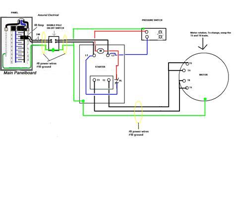 Pump Square Well Pressure Switch Wiring Diagram