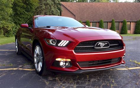 ruby red  ford mustang gt fastback mustangattitude
