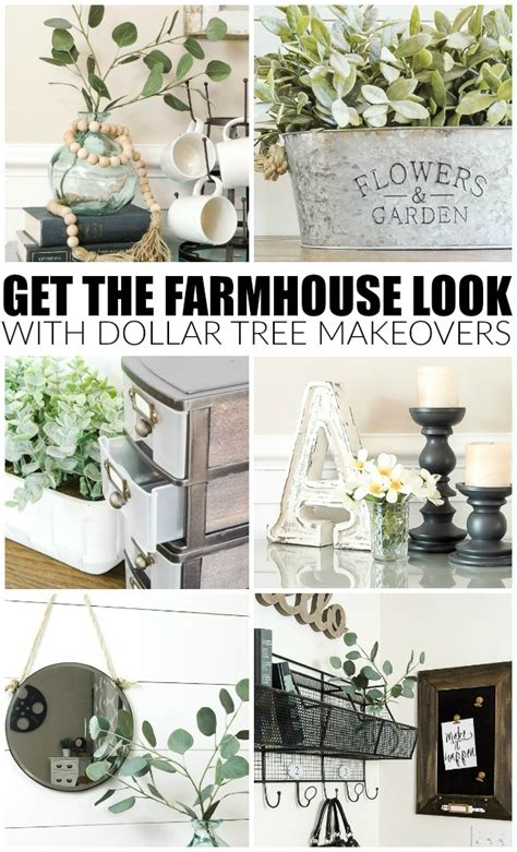 farmhouse   dollar tree items