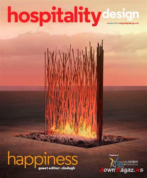 hospitality design magazine october