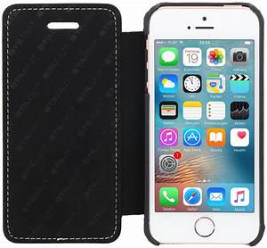 Iphone 5s Schwarz : book case aus leder schwarz apple iphone 5 5s pda max ~ Kayakingforconservation.com Haus und Dekorationen