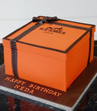 hermes box birthday cake sweet serenity