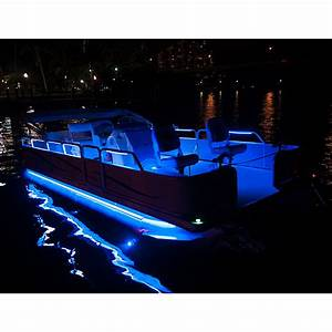 Pontoon Lighting  Boat Light Kit  24 U0026 39  Flex Track Led For