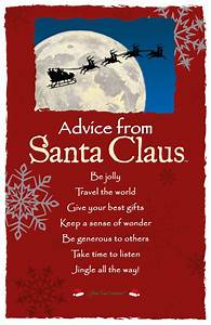 """""""Keep a sense of wonder."""" Advice from Santa Claus #santa # ..."""