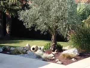 Quand Planter Lavande Dans Jardin : d coration jardin avec olivier jardin pinterest gardens patios and backyard ~ Dode.kayakingforconservation.com Idées de Décoration