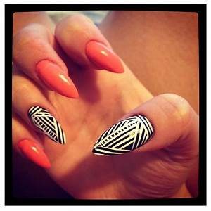 So dope!! Tribal print nails | NAILS DID | Pinterest ...