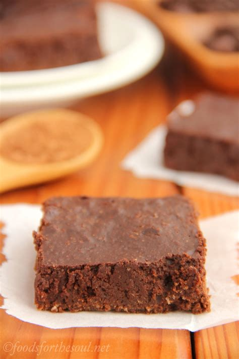 ultimate healthy fudgy cocoa brownies amys healthy