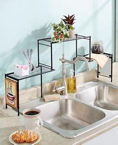 space saving sinks kitchen the sink rack coffee kitchen decor shelf space saver 5640