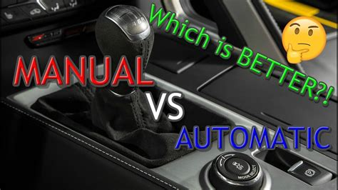 Manual Vs Automatic Transmissions! Which One Is Better