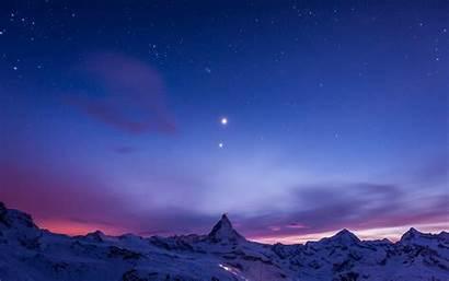 Sky Night Stars Wallpapers Pc Desktop Background