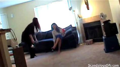 Lesbians Caught Hidden Cam