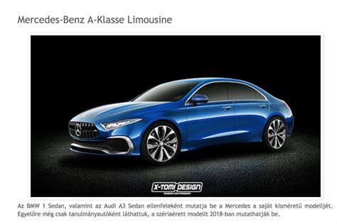 classe siege auto quel style pour la future mercedes classe a berline 2018