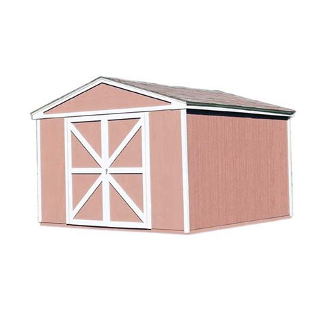 10x12 Shed Frame Kit by Handy Home Somerset 10 215 18 Wood Storage Shed Kit Nw