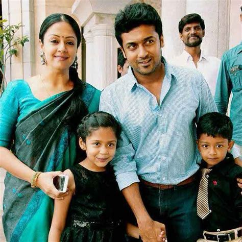 actress jyothika surya facebook actor surya family photos kollywood actor surya wife
