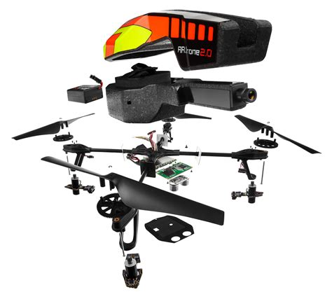 parrot ardrone  quadricopter design engine