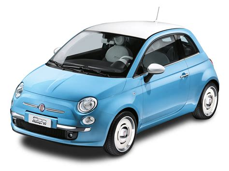 Fiat 500c Backgrounds by Blue Fiat 500 Vintage 57 Car Png Image Purepng Free