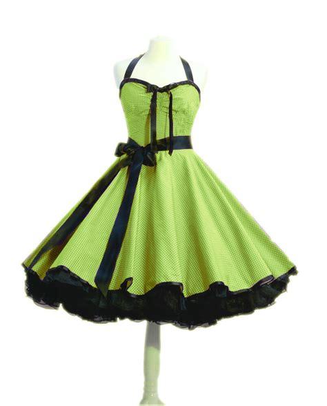 rockabilly kleid petticoat punktekleid er er jahre
