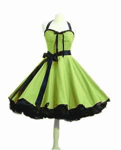 Kleidung 60 Jahre : rockabilly kleid petticoat punktekleid 50er 60er jahre stil rockabillymode ebay ~ Frokenaadalensverden.com Haus und Dekorationen