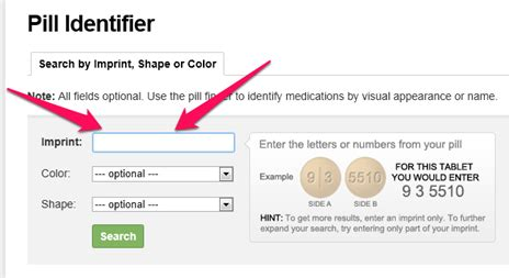identify pills by number and color how to locate the name of an unidentified pill by using